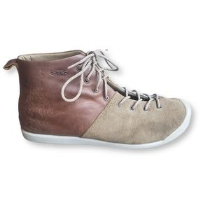 KEEN East Side leather/suede Lace up Boots size 9